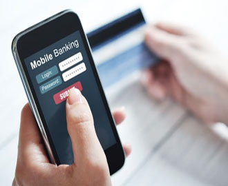 Mobile Banking -Now bank anywhere, anytime.